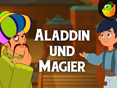 Aladdin und Magier -