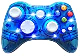 TIANCI LED Afterglow Dual-Vibration Wireless Gamepad-Controller für Microsoft Xbox 360 / PC(blue)