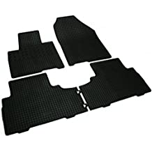 Schwarz Fußmatten 4 Stück Gummi Kia Sorento I 2003-2009