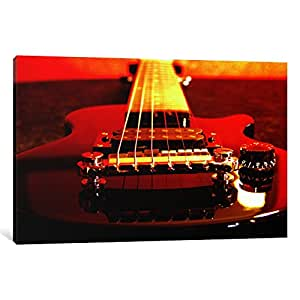 iCanvasART 1-Piece Electric Guitar Canvas Print by Unknown Artist, 0.75 x 12 x 8-Inch