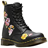 Dr. Martens 1460 Finda 2 Softy T 8 Eye Boot Black Flowers 40