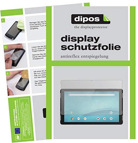 dipos I 2X Schutzfolie matt kompatibel mit TrekStor SurfTab Theatre 13.3 Folie Displayschutzfolie