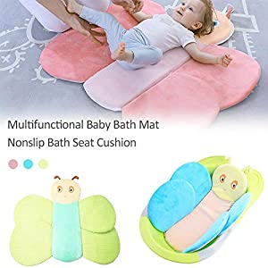Baby Bath Suppport, Bath Seat Support Comfortable Baby Bath Support Bath Tub Pad Newborn Baby Bathtub Seat Infant Support Cushion Mat Bath Mat