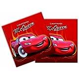 Cars Lightning McQueen Napkins 20's