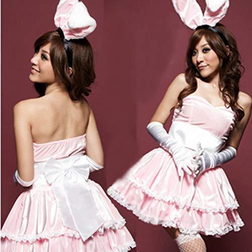 Kostüm Bunny Dance - George zhang Bunny Lead Dance Kostüme Fotografie Kostüme Weihnachten Kostüme Spaß Uniformen,Pink