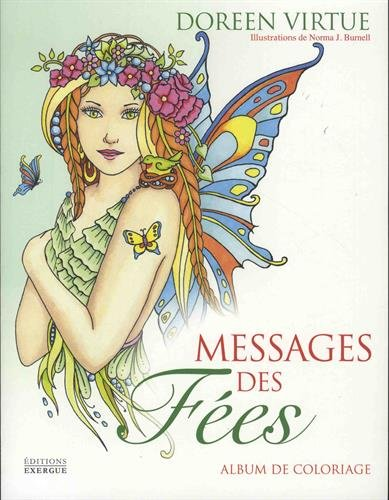 Messages des fées : Album de coloriage
