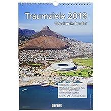 Wochenkalender Traumziele 2019