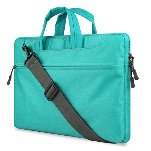 GADIEMENSS Water-resistant Laptop Shoulder Briefcase Bag Portable Computer case handbag For Apple Macbook Pro 15.4