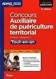 Concours Auxiliaire de puériculture territorial : Tout-en-un