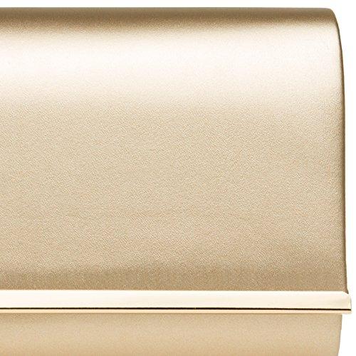 Oro in CASPAR Decorazione Pochette CASPAR Pochette Donna Donna Metallo TA415 TA415 con zPq6nz