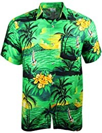 72fa478a Cherry-on-Top Hawaiian Shirt Summer Caribbean Party Stag Sail Boat