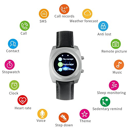 Yuntab-heart-rate-monitor-bluetooth-fitness-watch-jw-09-multi-idioma-SmartWatch-64-MB-di-RAM-128-MB-Sleep-Monitorpedometroallarmequadrofrequenza-cardiacasedentario-ricordoOrologio-elegante-Touch-Scree