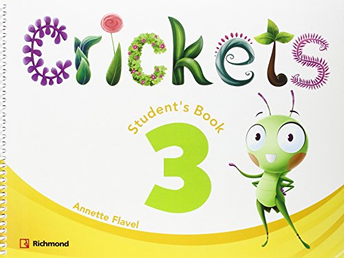 CRICKETS 3 STUDENT'S PACK - 9788466824552