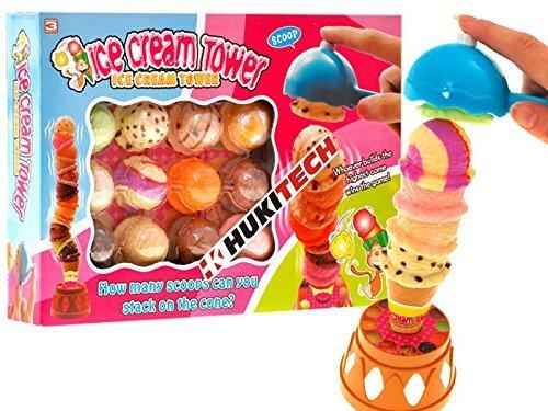 Ice-Cream-Tower-Geschicklichkeitsspiel-mit-hohem-Spafaktor-wie-Affenspiel-Kroko-Doc-Eismann-Supermarkt-Spiel-Eismaschine-Eisbecher-Kaufmannsladen-Kaufladen-Einkaufswagen-fr-Kinder-Spielkche-Familiensp
