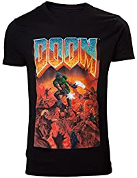 DOOM T-Shirt -XXL- Box Art, schwarz [import allemand]