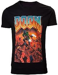 DOOM T-Shirt -S- Box Art, schwarz