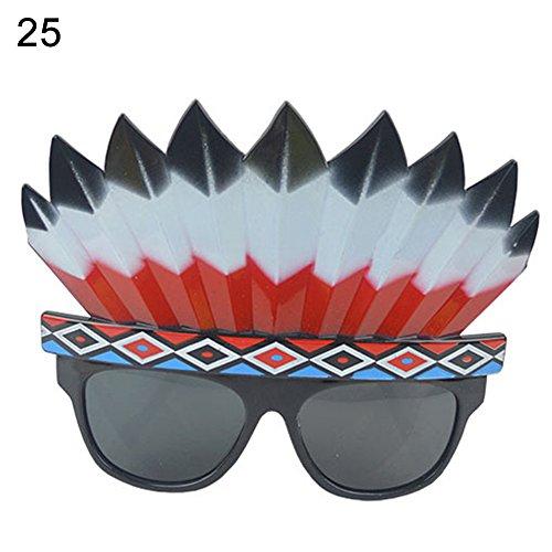 Austinstore Brille mit Fledermaus-Händen, für Kuchen, Kostüm, Party, Dekoration - 10#, plastik, 25#, Einheitsgröße