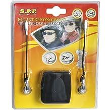 Motocicleta auriculares manos libres/intercomunicador para conductor y pasajero compartimento, auriculares