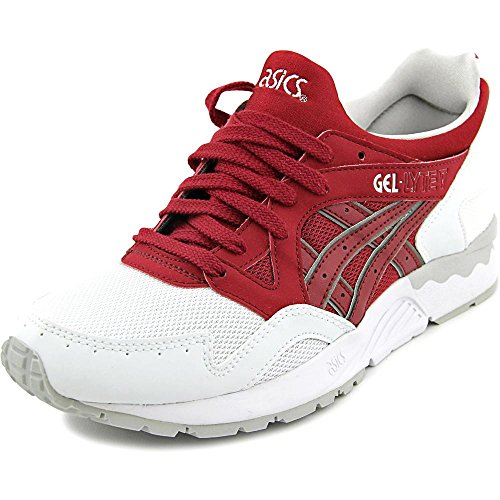 Asics Gel-Lyte V GS Synthétique Chaussure de Course Burgundy-Burgundy
