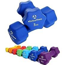 "3kg Hantelset Hantel Fitness Hanteln Aerobic Kurzhanteln /""Hexagon/"""
