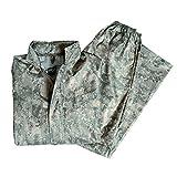 Miltec Tenue de pluie composée d'une veste et d'un pantalon, Acu Digital, XL