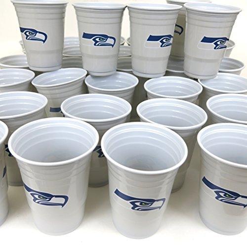 Seattle Seahawks Grill Cookut 4. Juli Jumbo Party Tassen Set von 36. Große Kunststoff Colorful 18oz Spiel Tag Kunststoff Tassen. (4. Von Juli-party-spiele)
