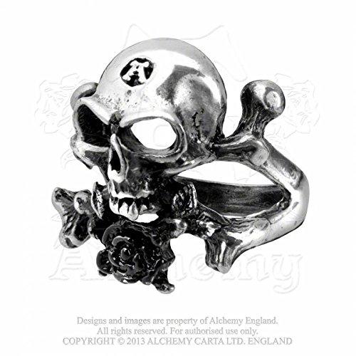 Alchemy Gothic o principio Anello, base metal, 54 (17.2), cod. R22-Q