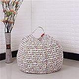Die besten Kinder-Quilts - Youngshion Kinder Spielzeug Aufbewahrung Sulotion Sitzsack Canvas gefüllt Bewertungen