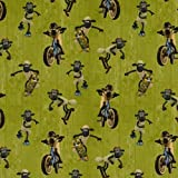 Jersey Shaun das Schaf grün Fahrrad Roller Digitaldruck