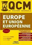 Image de QCM Europe et Union européenne : concours administratifs de catégorie A, B et C