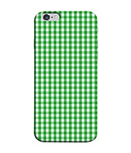 Fuson Designer Back Case Cover for Apple iPhone 6 Plus :: Apple iPhone 6+ (Check Checkers Line suit shirt)