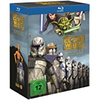 Star Wars: The Clone Wars - Komplettbox Staffel 1-5