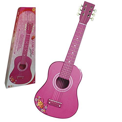 REIG 7065 Pink - Chitarra in Legno da 65 cm