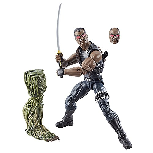Marvel- Legend Series Blade Figurine Elektra, Multicolore (C1783EU4)
