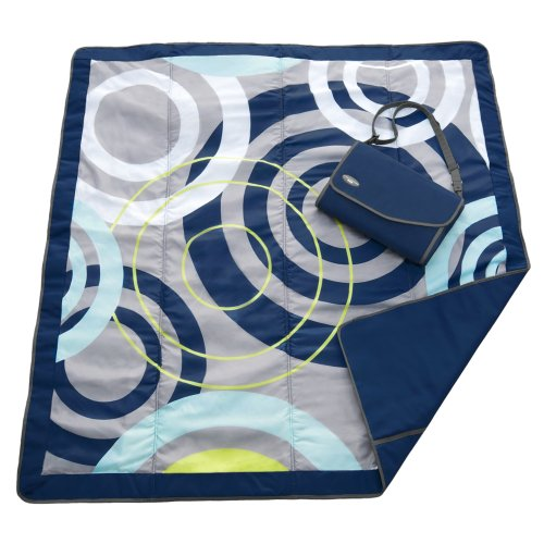 JJ Cole Couverture d'extérieur Bleu orbite 12,5 x 12,5 cm