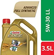 Castrol - 3423441 Edge 5W-30 LL Full Synthetic Engine Oil (3.5L) for Cars