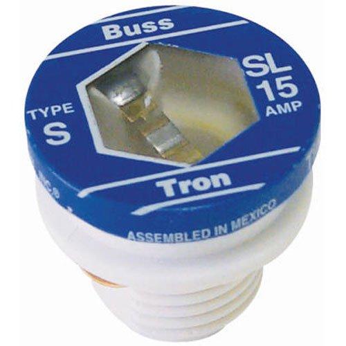 Sl Plug Fuse (Bußmann sl-15pk415Amp Time Delay geladen Link Ablehnung Boden Plug Fuse, 125V Ul Listed, 4er Pack)