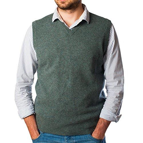 Hawick Knitwear - Pull - Homme Bleu - Soft Denim