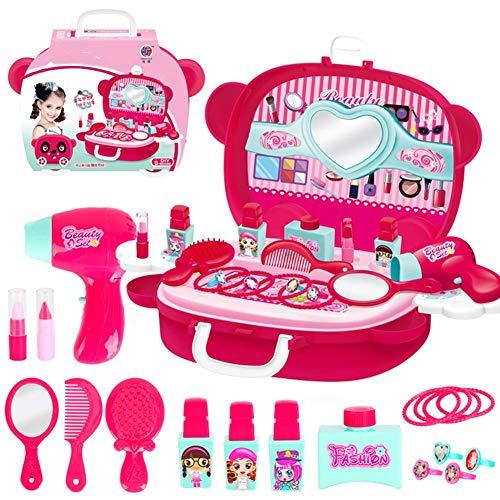 Kinderschminkset Schminkkoffer Kinderschminke für Kinder Schminksachen Mädchenkoffer für Kinder...