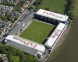 Mauspad mit Antenne Craven Cottage Bilder von, von Fulham FC home