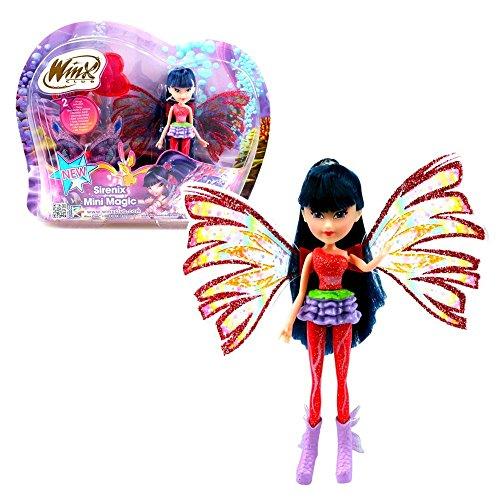 Winx Club - Sirenix Mini Magic - Musa Bambola con la Trasformazione