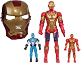 Avengers Action Figures with Mask