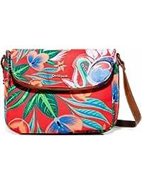 Bols_liana Breda Maxi, Womens Cross-Body Bag, Rot (Carmin), 7x21x28 cm (B x H T) Desigual