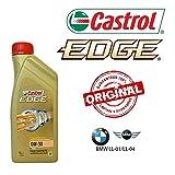 Castrol Edge Motoröl Titanium FST 0W30, Originalprodukt für BMW Longlife 04, 6 Liter