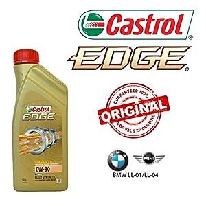 Castrol Edge Titanium FST – 6x Litres d'huile 0W30originale pour BMW Longlife 04 pas cher