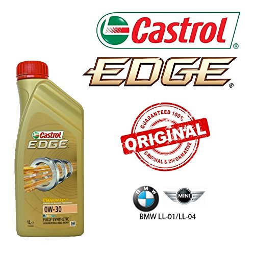 castrol edge titanium fst 6x litres d huile 0w30 originale pour bmw longlife 04 pas cher. Black Bedroom Furniture Sets. Home Design Ideas