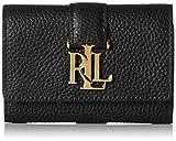 Ralph Lauren Damen Commuter Wallet Geldbörse, Schwarz (Black), 3x7.5x10 cm