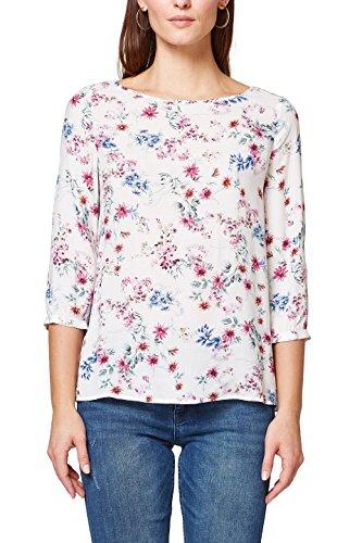 ESPRIT Collection Damen Bluse 038EO1F010, Beige (Cream Beige 295), 38