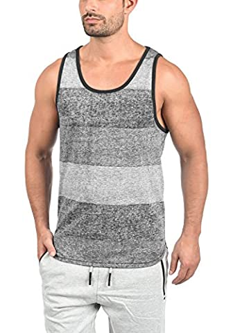 Debardeur Xl - SOLID Charan - Tank Top - Homme, taille:XL;couleur:Black