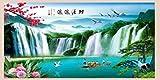 Papier peint YT Salon Mur canapé décor Mural Autocollants apposés Autocollants Mur de Verre Autocollants Auto-adhésifs Peinture décorative, High 1 Meters * 2 Meters Wide